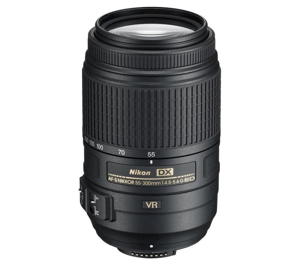 NIKON AF-S DX NIKKOR 55-300 mm f/4.5-5.6G SWM ED VR Telephoto Zoom Lens