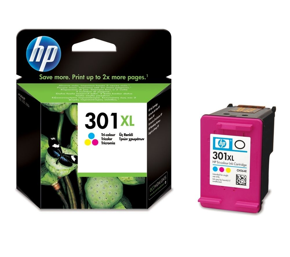 HP 301XL Tricolour Ink Cartridge