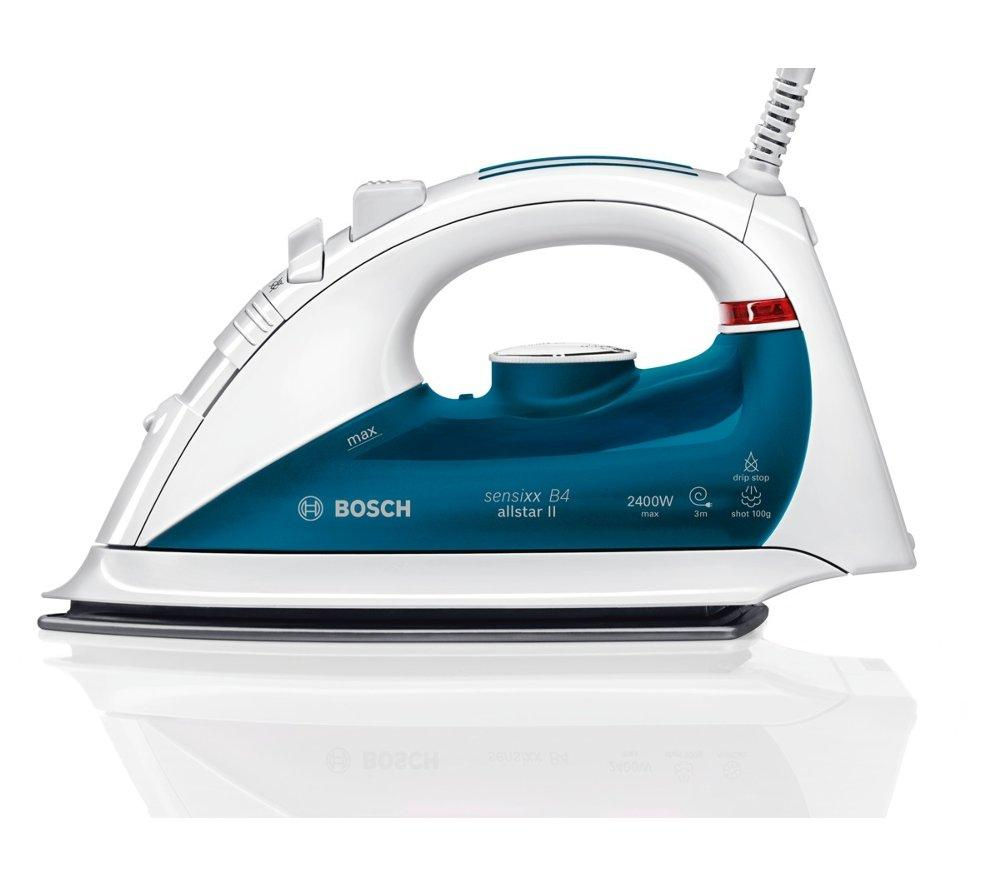 buy bosch tda5602gb steam iron white blue free delivery currys. Black Bedroom Furniture Sets. Home Design Ideas