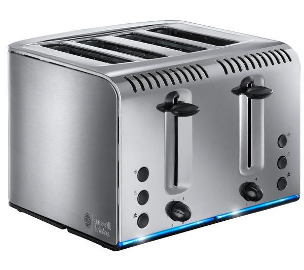 buy russell hobbs buckingham 4 slice toaster stainless. Black Bedroom Furniture Sets. Home Design Ideas