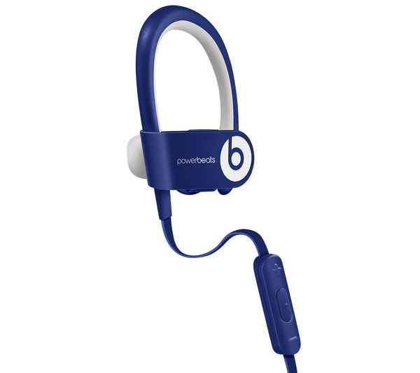 buy beats by dr dre powerbeats wireless bluetooth headphones blue free delivery currys. Black Bedroom Furniture Sets. Home Design Ideas