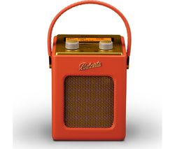 ROBERTS Revival Mini Portable DAB+ Radio - Sunburst Orange & Gold