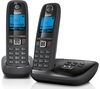 GIGASET Duo AL415A Cordless Phone with Answering Machine - Twin Handsets