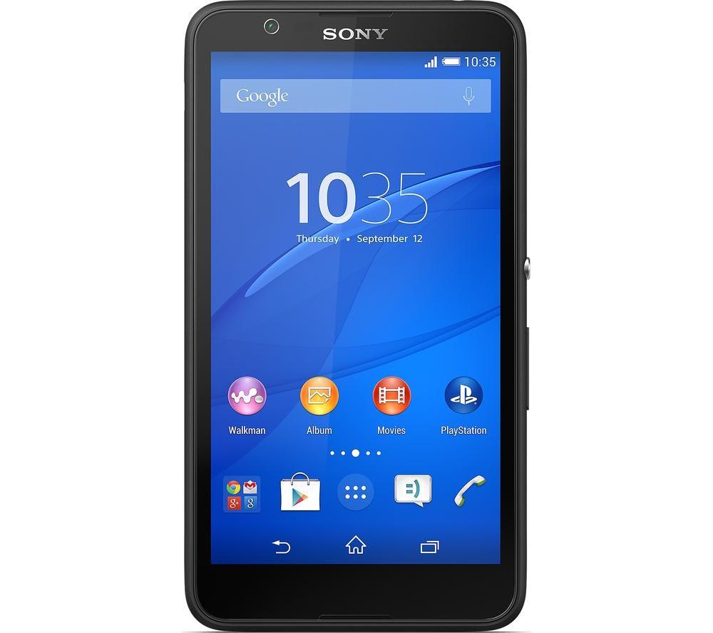 Sony Xperia E4  8 GB Black Black