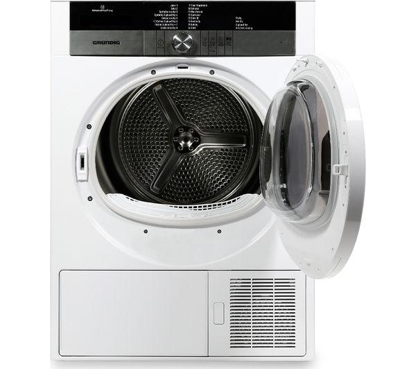 Tumble Dryer Temperature ~ Buy grundig gtn hgcw heat pump tumble dryer white
