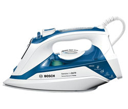 BOSCH TDA7060GB Steam Iron - White & Blue