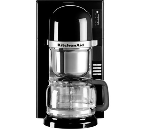 Kitchenaid Coffee Maker Pour Over : Buy KITCHENAID Pour Over Coffee Maker Onyx Black Free Delivery Currys