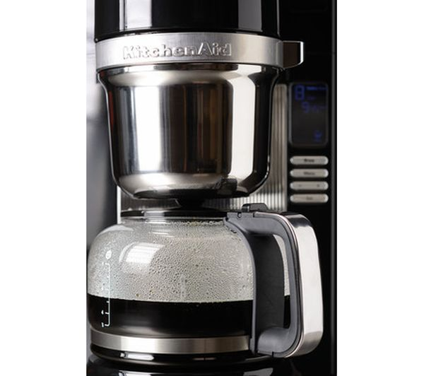 Kitchenaid Coffee Maker Pour Over : Buy KITCHENAID Pour Over Coffee Maker Onyx Black + 11068-01 Travel Mug - Black Free Delivery ...