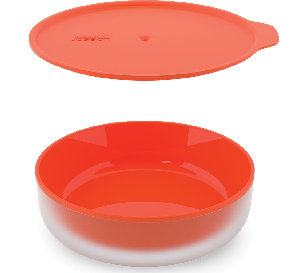 JOSEPH JOSEPH M-Cuisine Cool-touch Microwave Dish - Stone & Orange