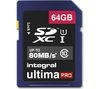INTEGRAL UltimaPro Class 10 SDHC Memory Card - 64 GB