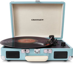 CROSLEY CR8005ATRQ Cruiser Turntable - Turquoise
