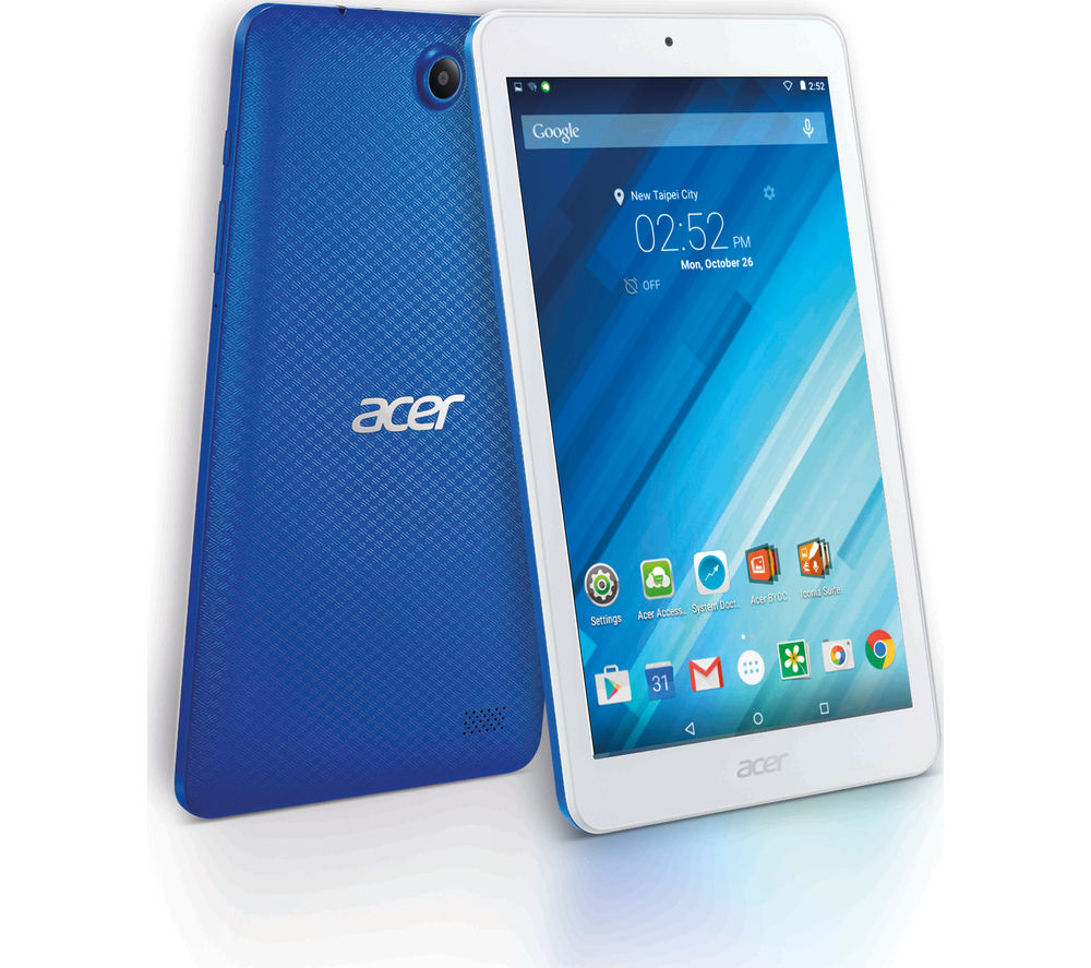"Image of Acer Iconia One B1-850 8"" Tablet - 16 GB, Blue, White"