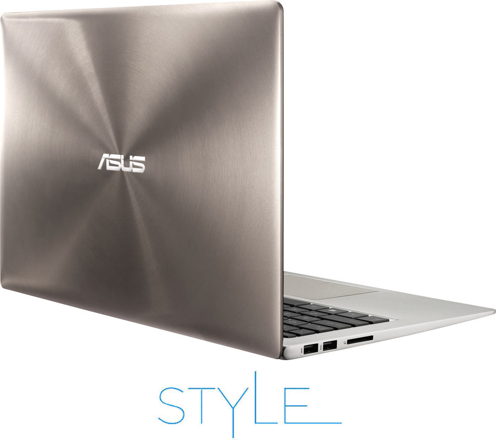 "Image of Asus Intel ZenBook UX303 13.3"" Touchscreen Laptop - Silver"