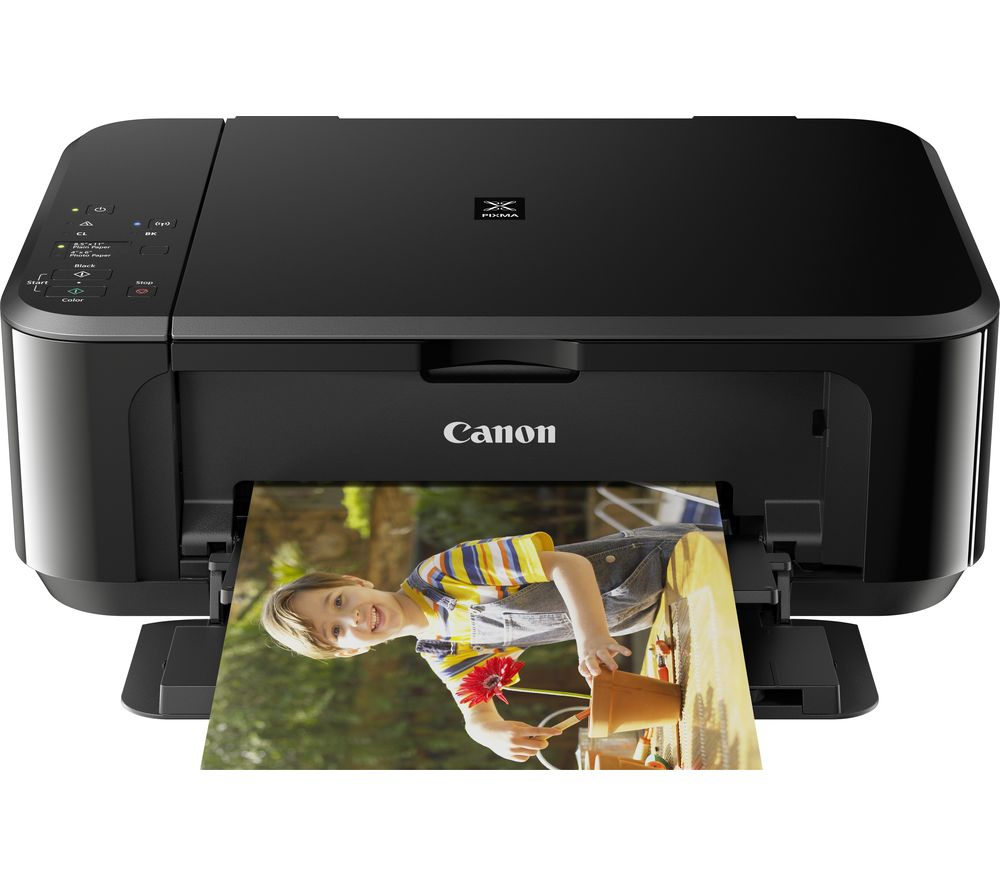 Image of Canon PIXMA MG3650 All-in-One Wireless Inkjet Printer - Black