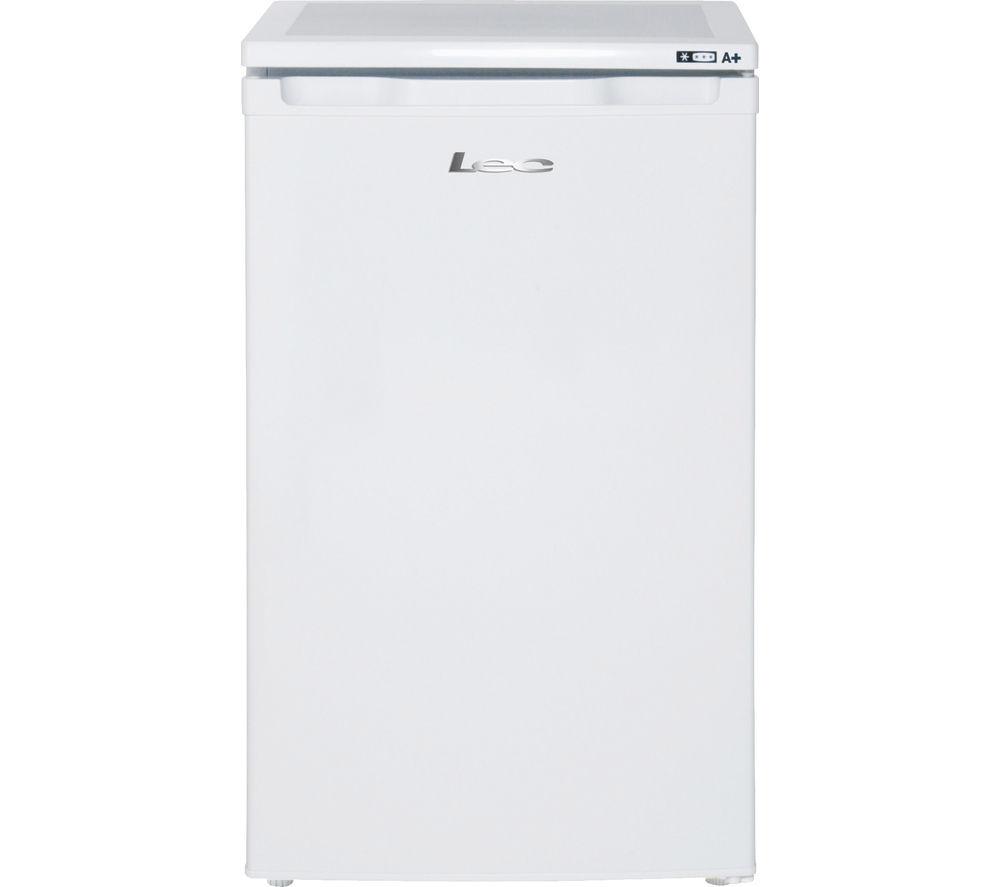 LEC U5010W Undercounter Freezer - White