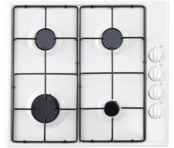 ESSENTIALS CGHOBW16 Gas Hob - White