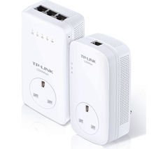 TP-LINK AV1200 Wireless Powerline Adapter Kit - Twin Pack