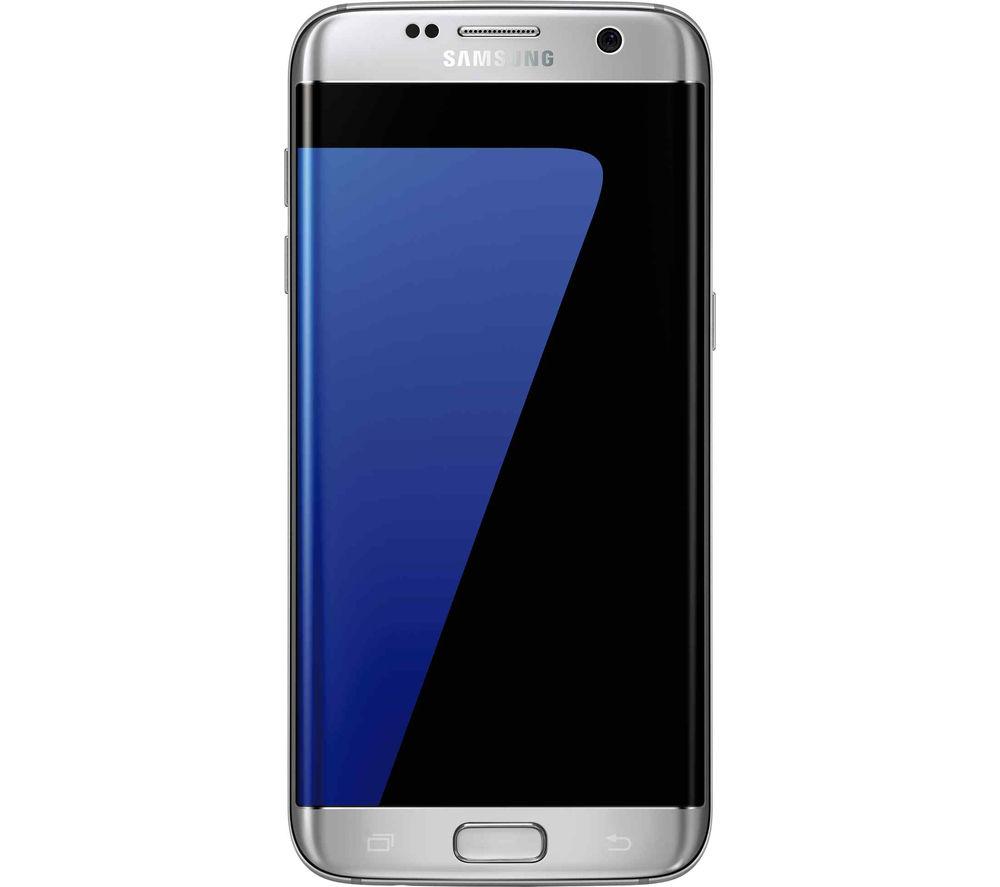 Buy Samsung Galaxy S7 Edge Silver Titanium Free