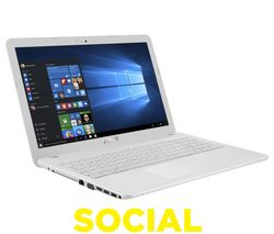"ASUS X540SA 15.6"" Laptop - White"