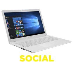 """ASUS X540SA 15.6"""" Laptop - White"""