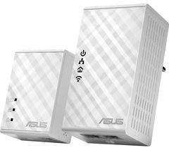 ASUS PL-N12 Powerline Adapter Kit - Twin Pack