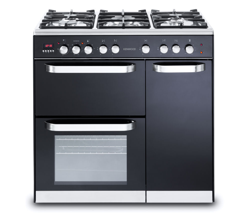 buy kenwood ck503 dual fuel range cooker black free. Black Bedroom Furniture Sets. Home Design Ideas