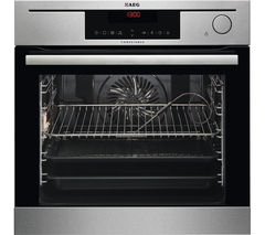 AEG BS730472KM Electric Steam Oven - Stainless Steel