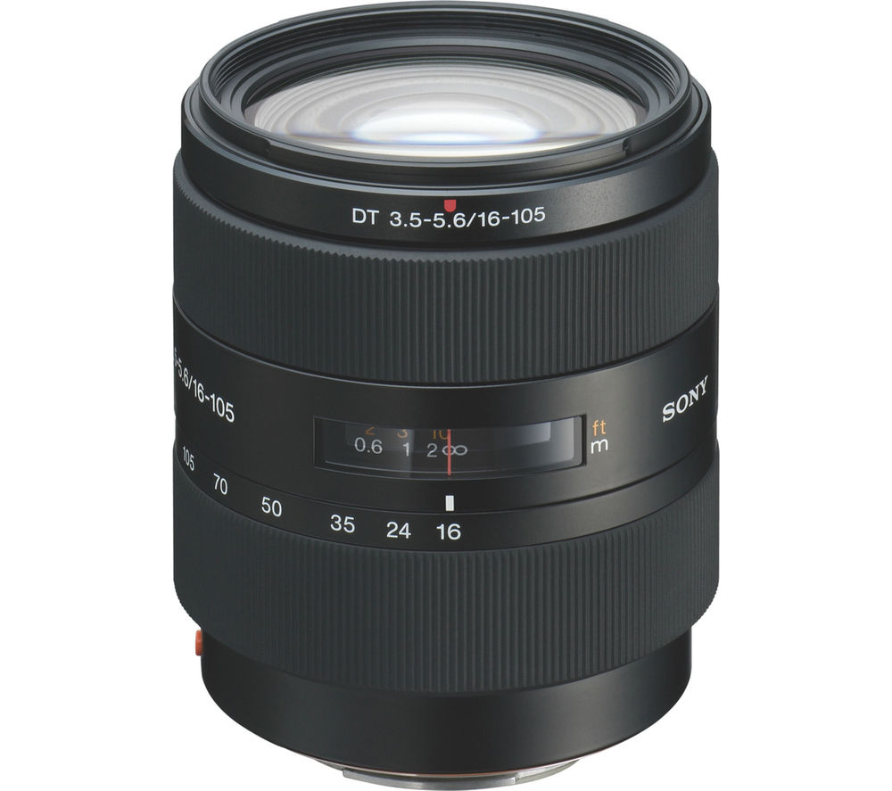 SONY DT 16-105 mm f/3.5-5.6 Standard Zoom Lens
