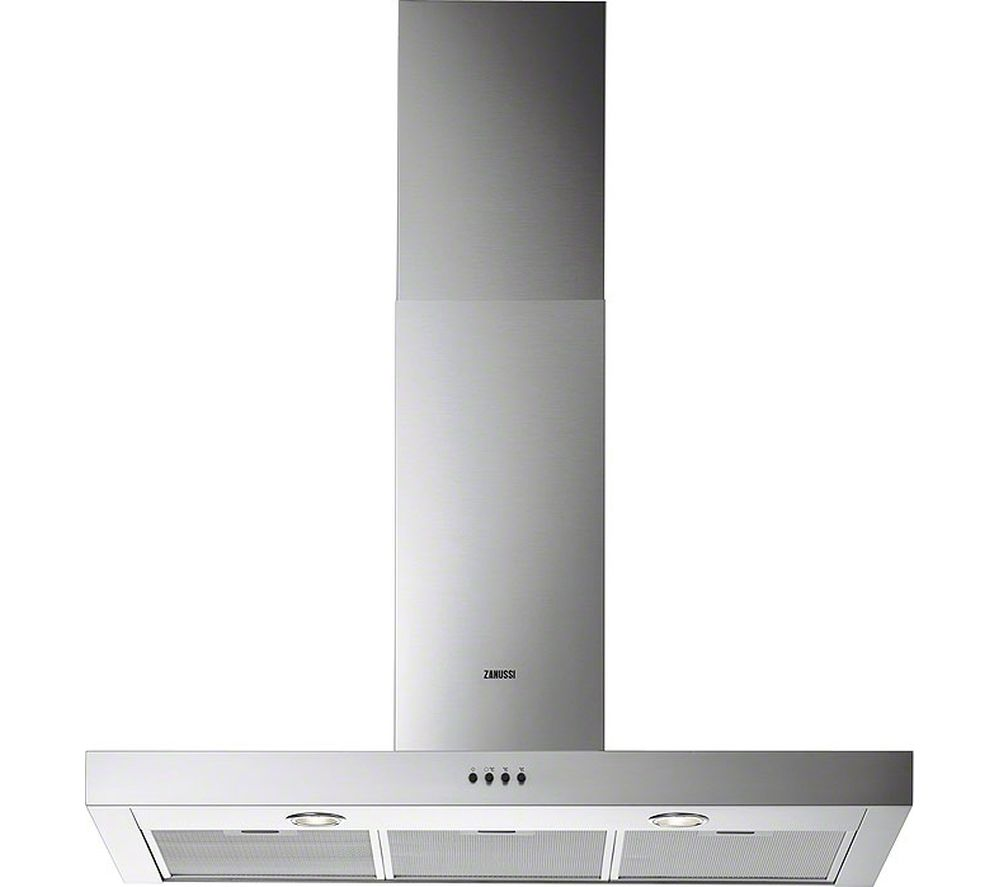 ZANUSSI  ZHC92661XA Chimney Cooker Hood  Stainless Steel Stainless Steel