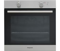 HOTPOINT GA2124IX Gas Oven - Stainless Steel
