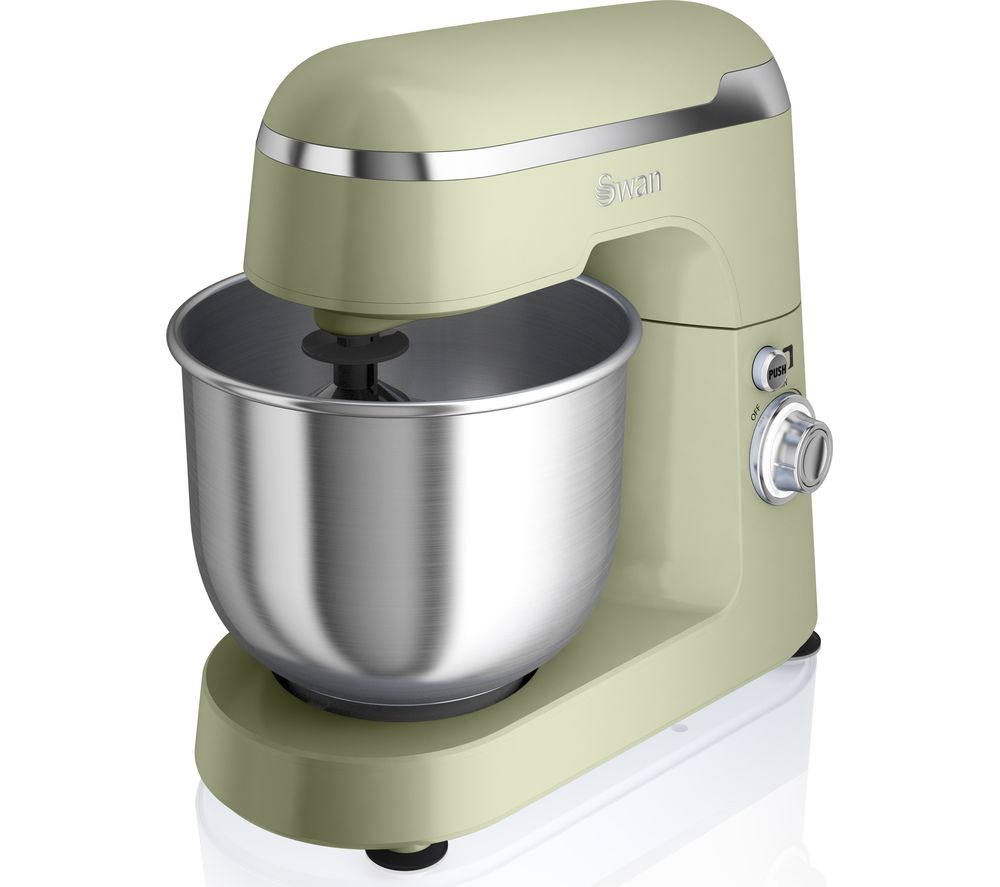 Buy swan retro sp25010gn stand mixer green free Kitchen appliance reviews uk