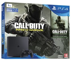 PLAYSTATION 4 Slim & Call of Duty: Infinite Warfare - 1 TB