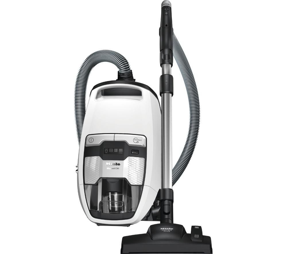 Image of MIELE Blizzard CX1 Comfort Excellence PowerLine Cylinder Bagless Vacuum Cleaner - White, White
