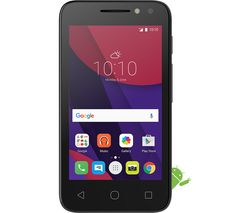 "ALCATEL Pixi 4 (4"") - 8 GB, Black"