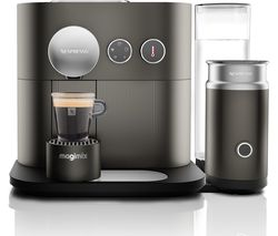 NESPRESSO by Magimix Expert M500 Smart Coffee Machine with Aeroccino - Arithrocite Grey
