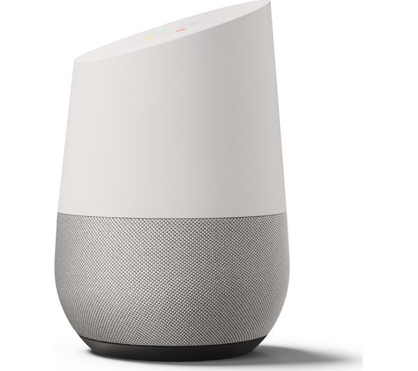 buy google home white free delivery currys. Black Bedroom Furniture Sets. Home Design Ideas