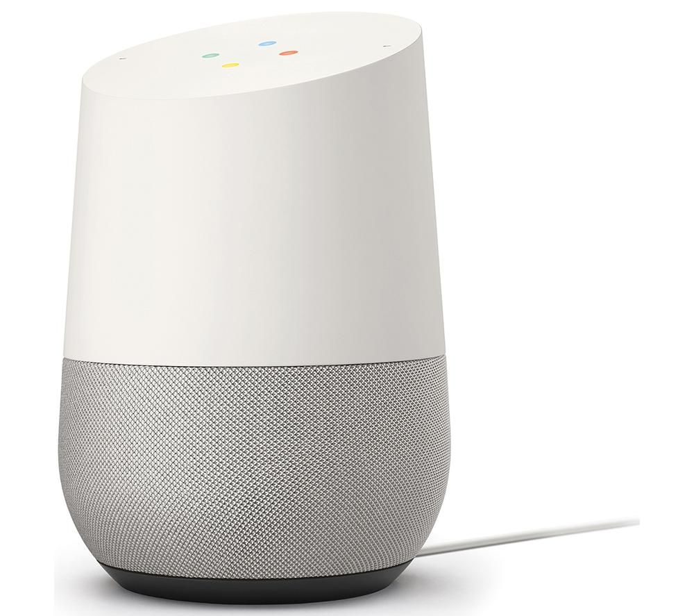 GOOGLE Home Hands-free Smart Speaker - White