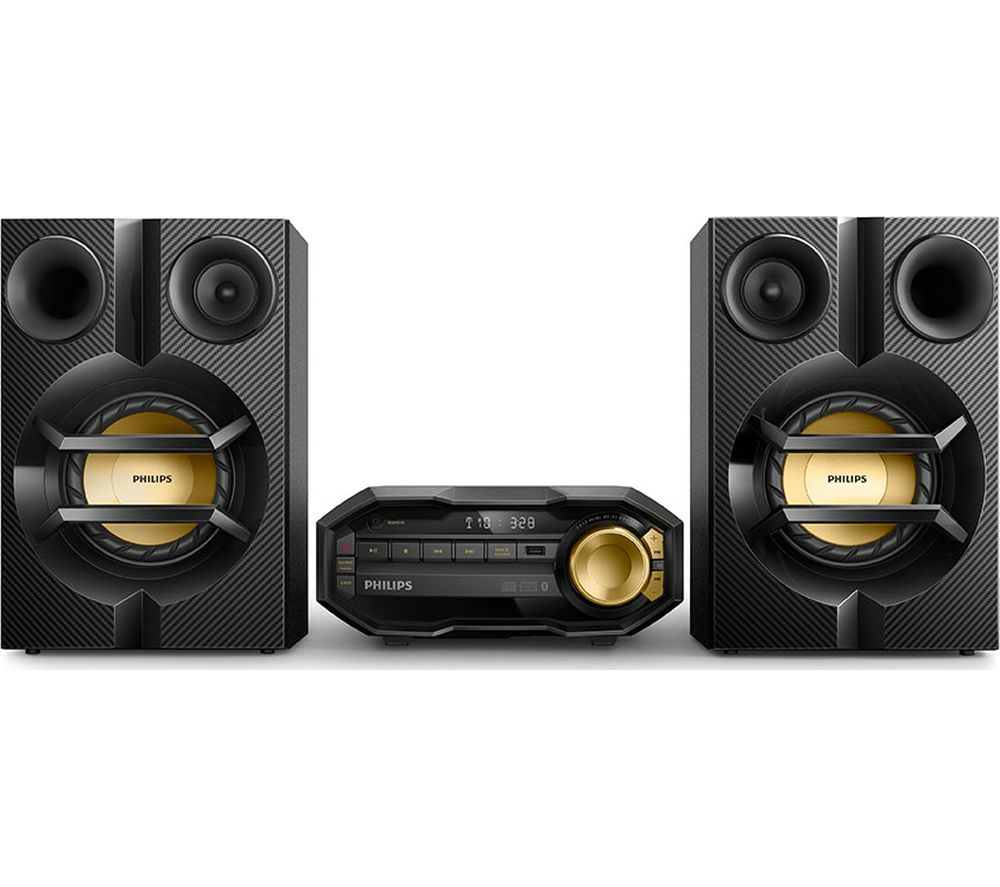 PHILIPS FX10/12 Megasound Hi-Fi System - Black