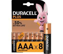 DURACELL LR03/MX2400 Plus Power AAA Alkaline Batteries