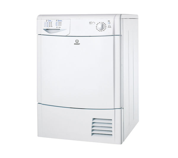 INDESIT IDC85 Condenser Tumble Dryer - White
