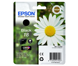 EPSON Daisy T1801 Black Ink Cartridge
