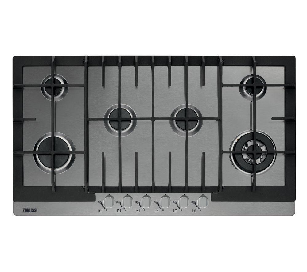 ZANUSSI ZGG96624XA Gas Hob - Stainless Steel