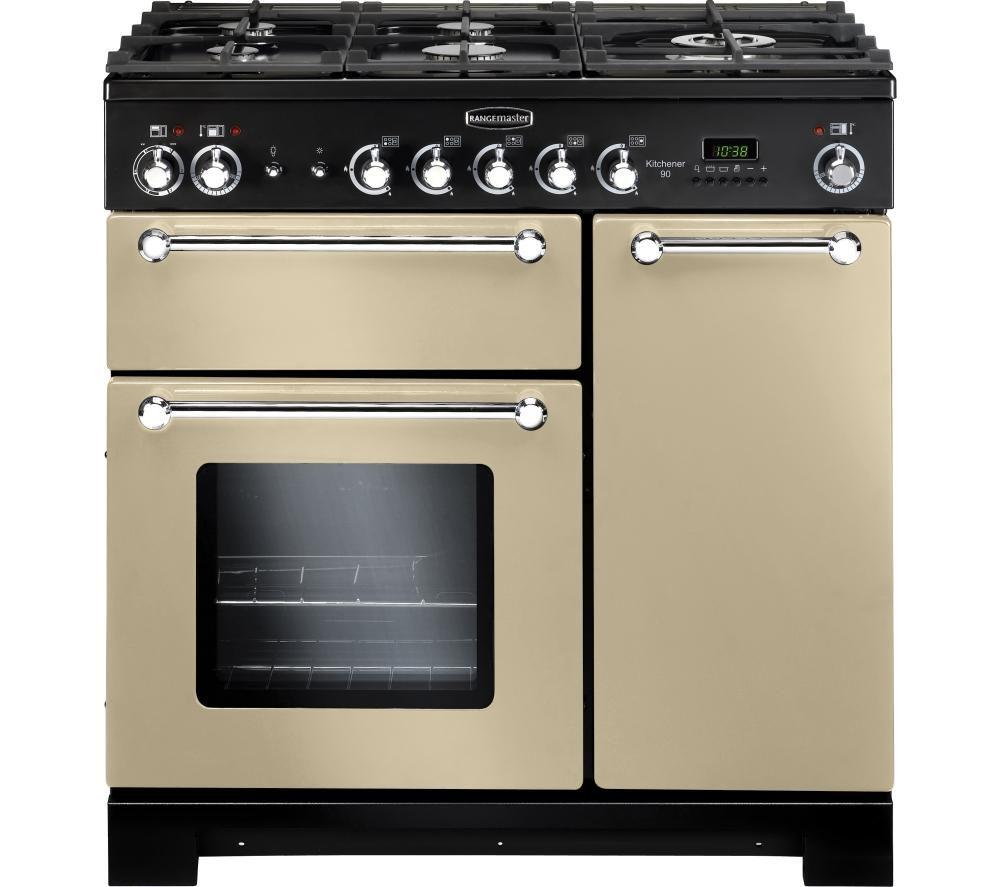 Buy Rangemaster Kitchener 90 Dual Fuel Range Cooker