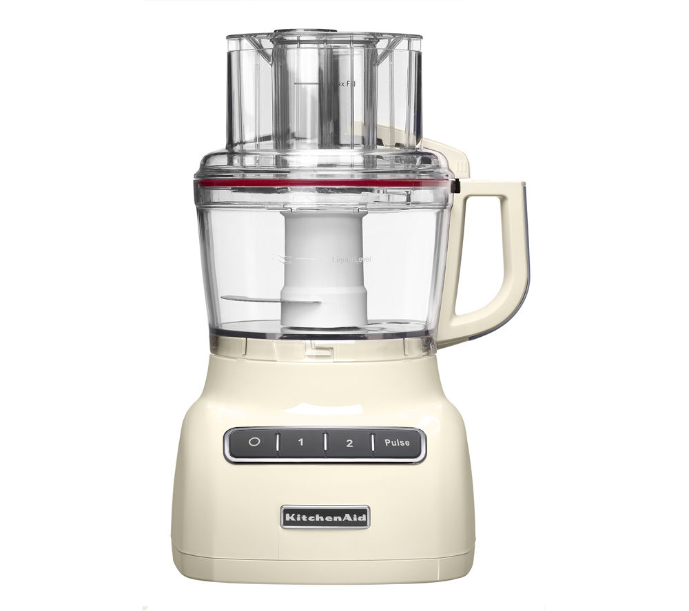 Buy kitchenaid 5kfp0925bac 2 1 food processor almond for Kitchenaid food processor