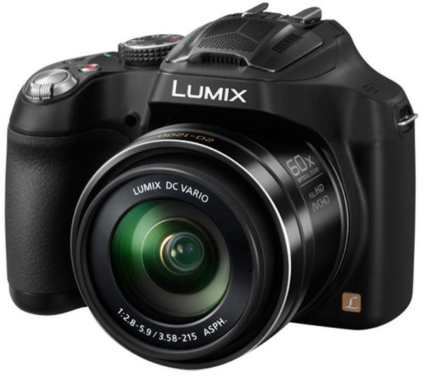 PANASONIC Lumix FZ72 Bridge Camera - Black + Format 120 Compact System Camera Bag - Black