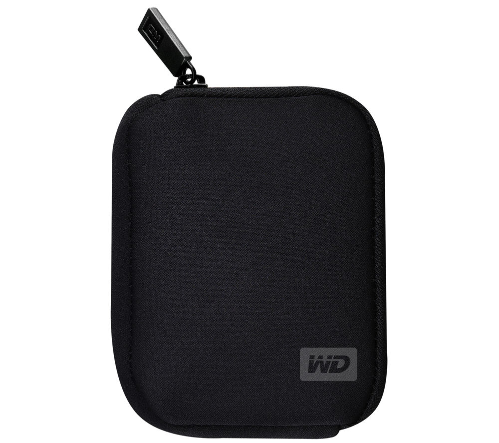 wd my passport portable hard drive carry case black deals pc world. Black Bedroom Furniture Sets. Home Design Ideas