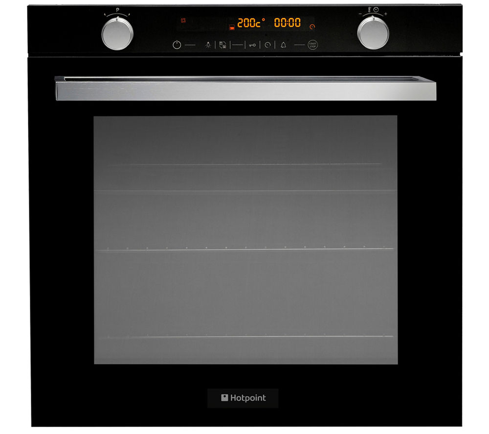 Hotpoint Openspace OSD89EDE Electric Oven - Black, Black