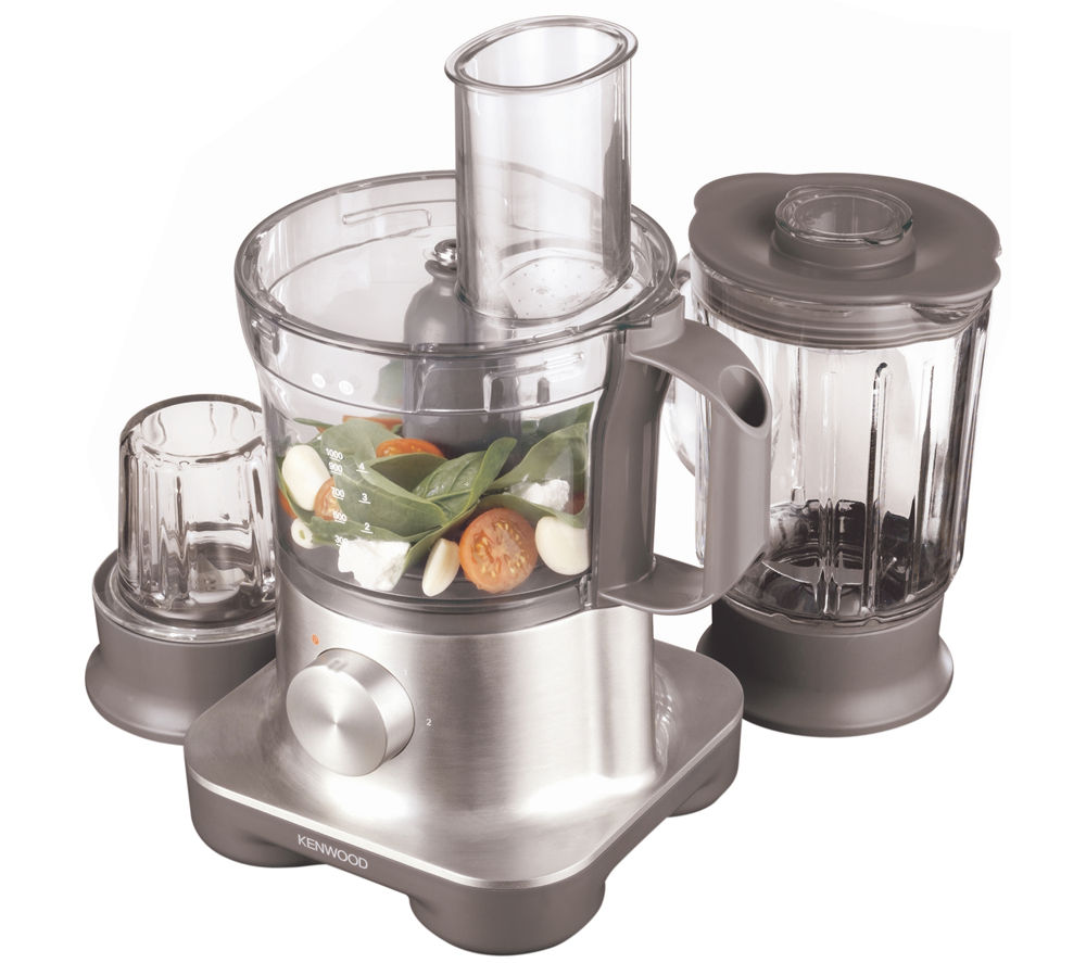 KENWOOD  FPM260 Multipro Food Processor  Silver Silver