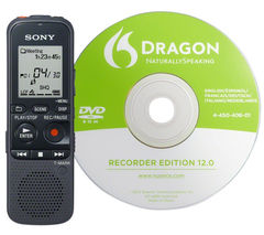 SONY ICDPX333D.CE7 Digital Voice Recorder - Black