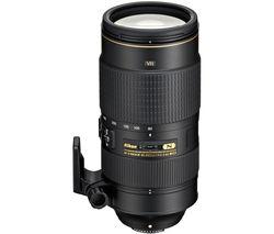NIKON AF-S NIKKOR 80-400 mm f/4.5-5.6 G ED VR Telephoto Zoom Lens